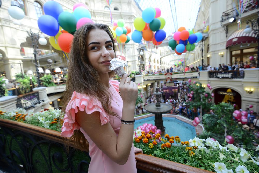 Мороженое из кваса начнут продавать в центре Москвы на День города