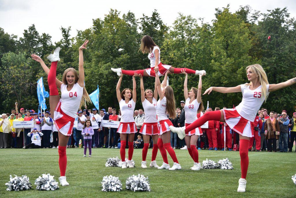 Праздник спорта в «Лужниках» посетили более пяти тысяч человек