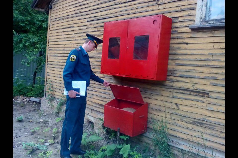 Мероприятия по предупреждению пожаров провели в Новомосковском административном округе