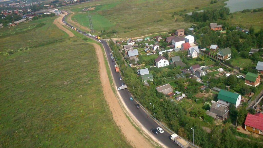 Пострадавших участников ДТП в Рязановском эвакуировали двумя вертолетами