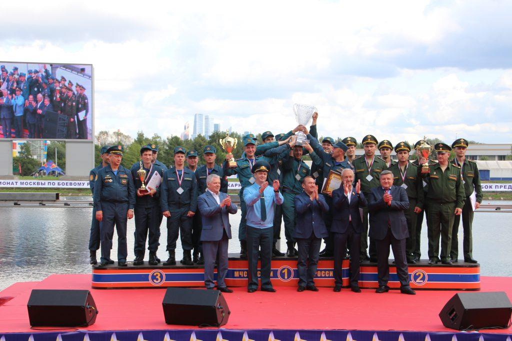 Открытый Чемпионат города Москвы по боевому развертыванию прошел в Крылатском