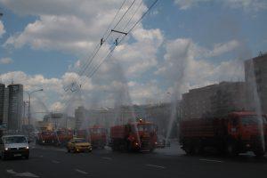 """Специалисты приступили к охлаждению воздуха. Фото: архив, """"Вечерняя Москва"""""""