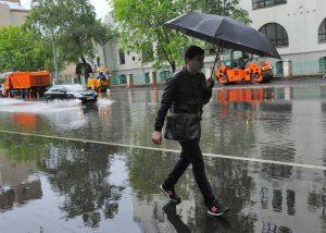 МЧС предупредило о надвигающемся на Москву ливне