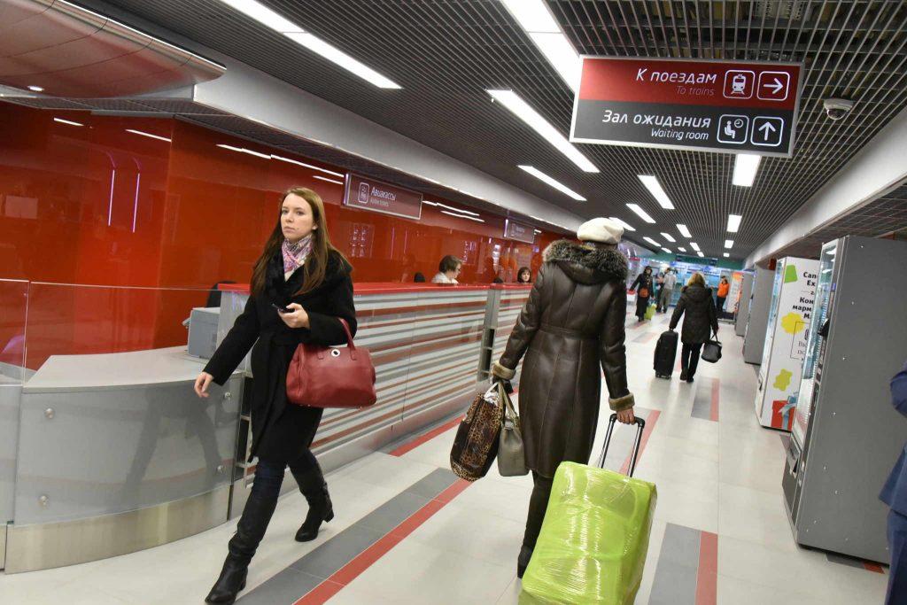 Вокзалы Москвы получат электронную очередь в 2017 году