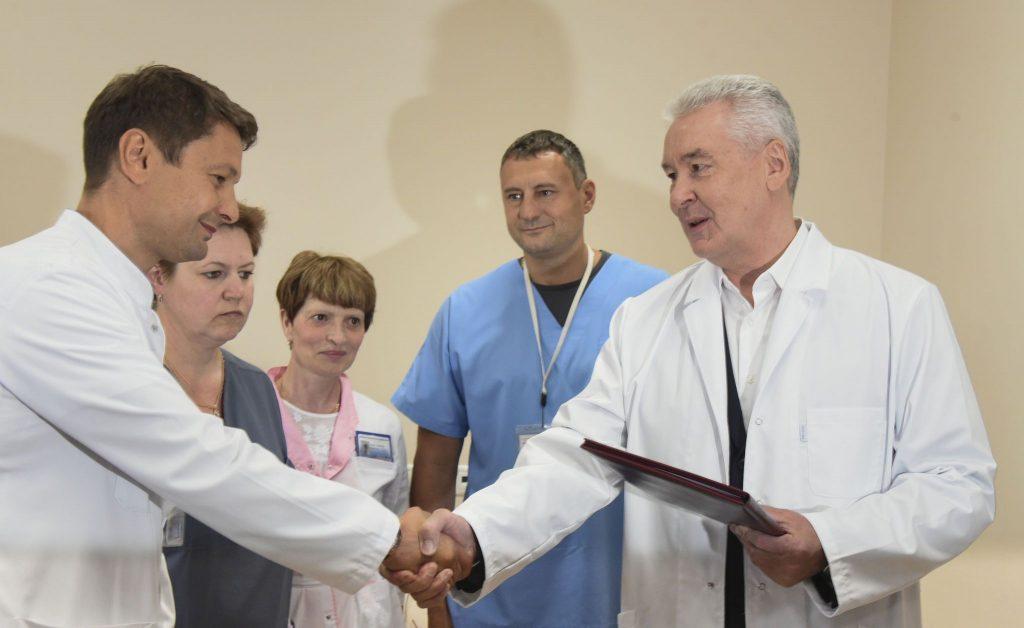Собянин принял решение о выделении грантов для реанимационных отделений больниц