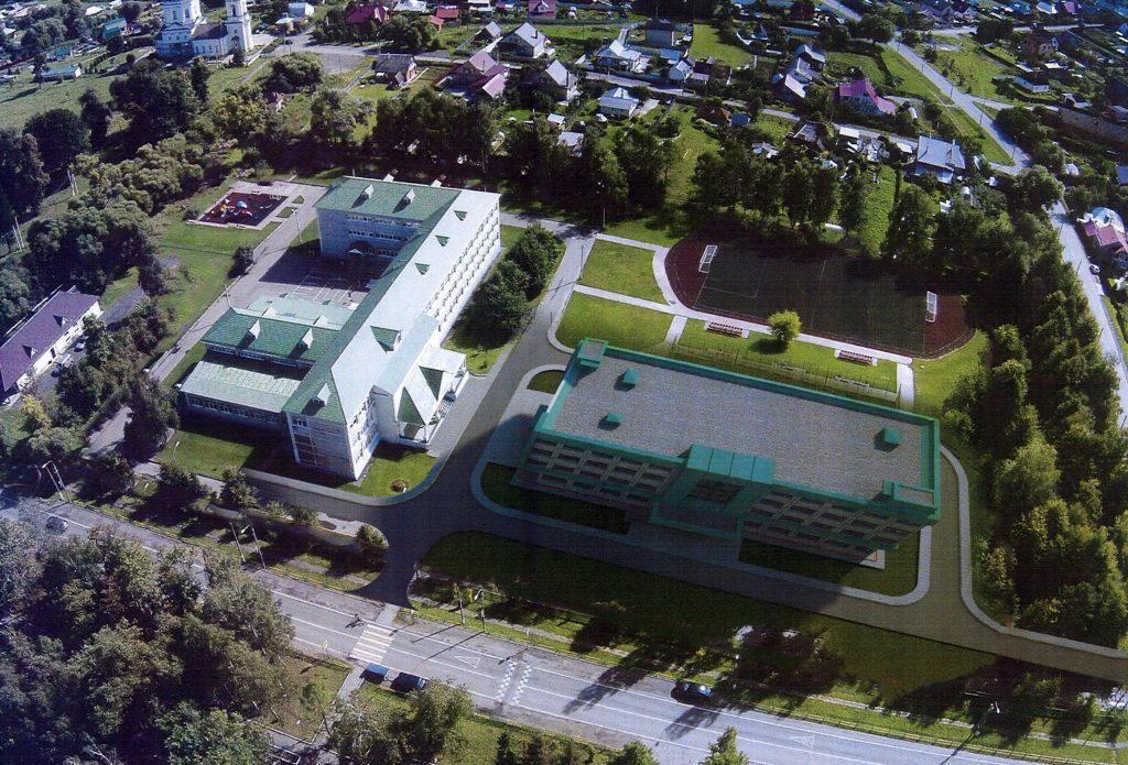 Реконструкцию школы проведут в Кленовском