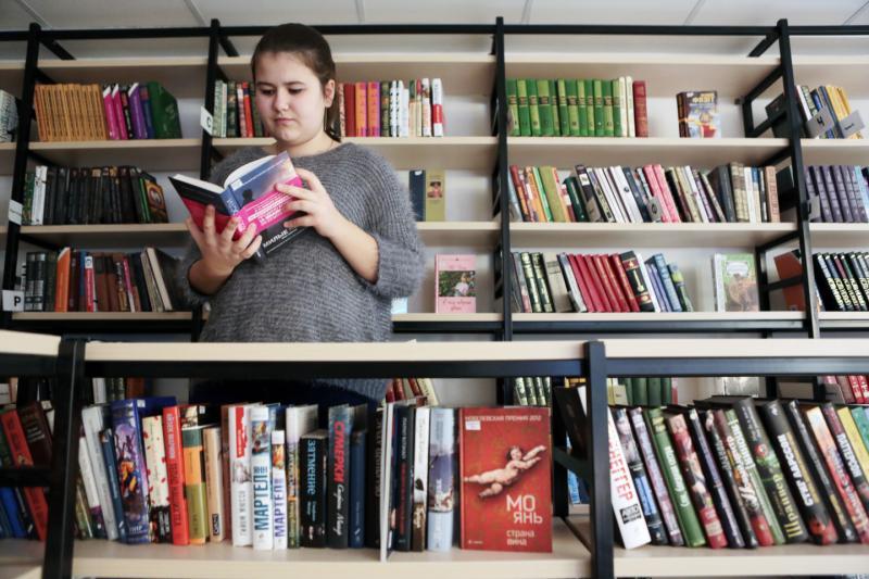 Детскую библиотеку в Щербинке откроют до конца года