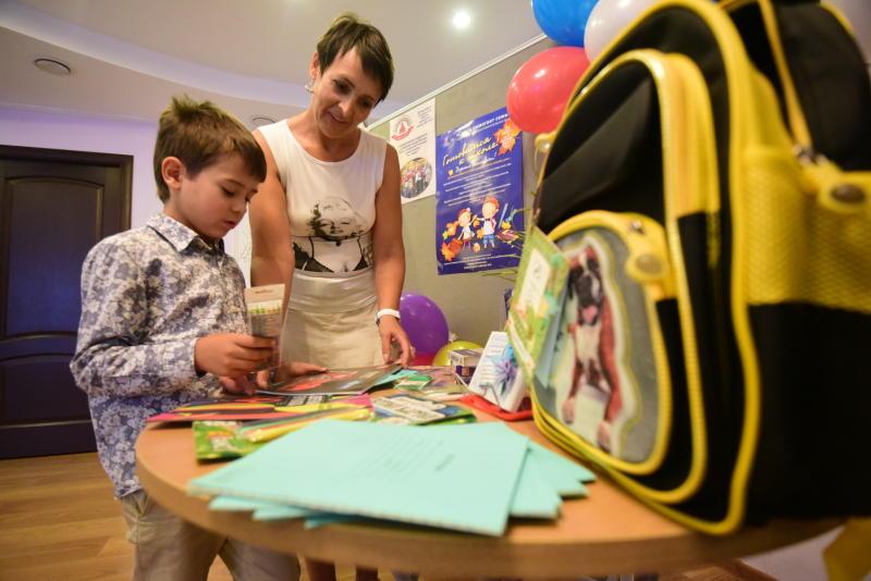 Кто живет в портфеле, узнают дети из Мосрентгена
