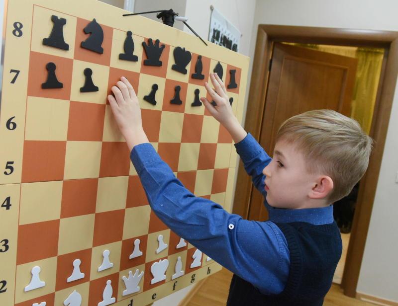 Уроки шахмат проведут в Воскресенском