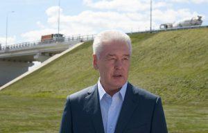 Собянин открыл новый автодорожный путепровод в Крёкшино. Фото: архив, «Вечерняя Москва»