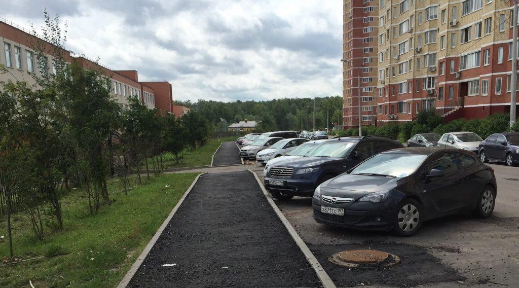 Новые парковочные зоны появились в Московском