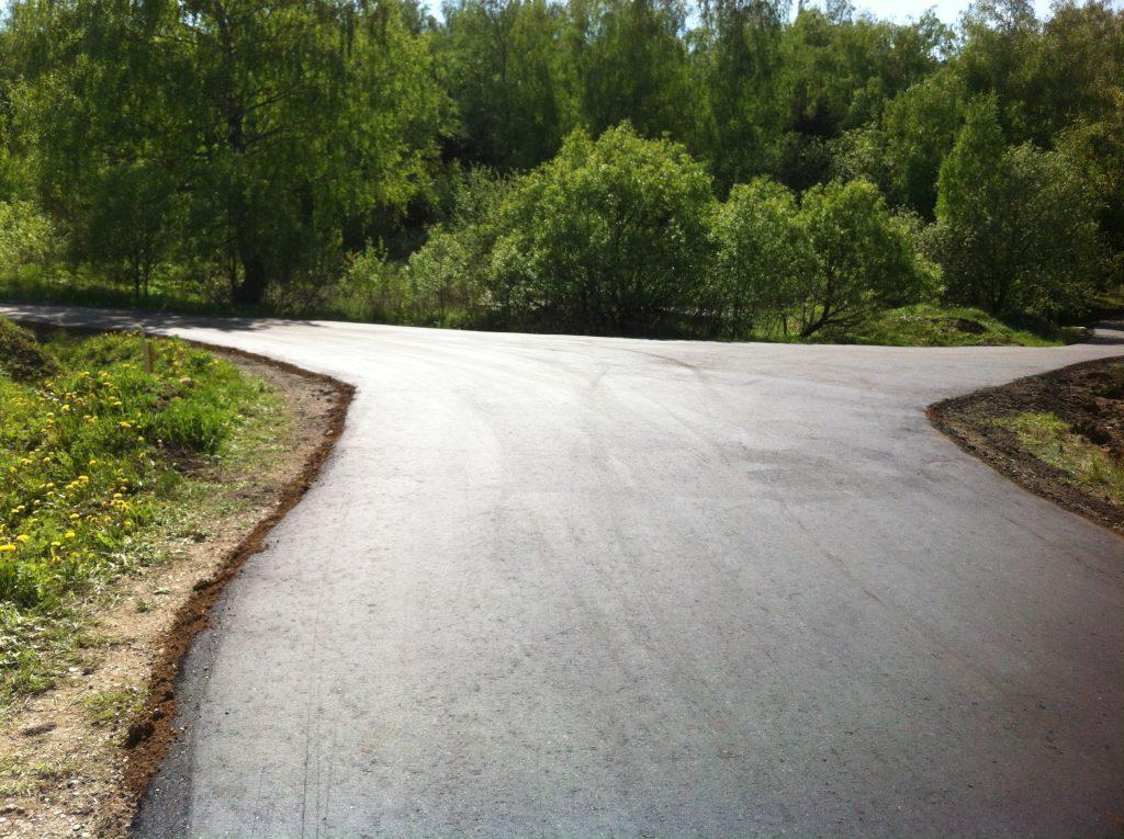 Ремонт дорог в Марушкинском завершен
