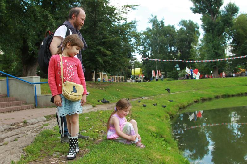Первый этап благоустройства парка в Пыхтине завершится к началу осени