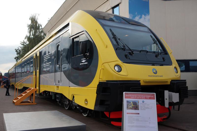 Международный железнодорожный салон техники и технологий открылся в Щербинке