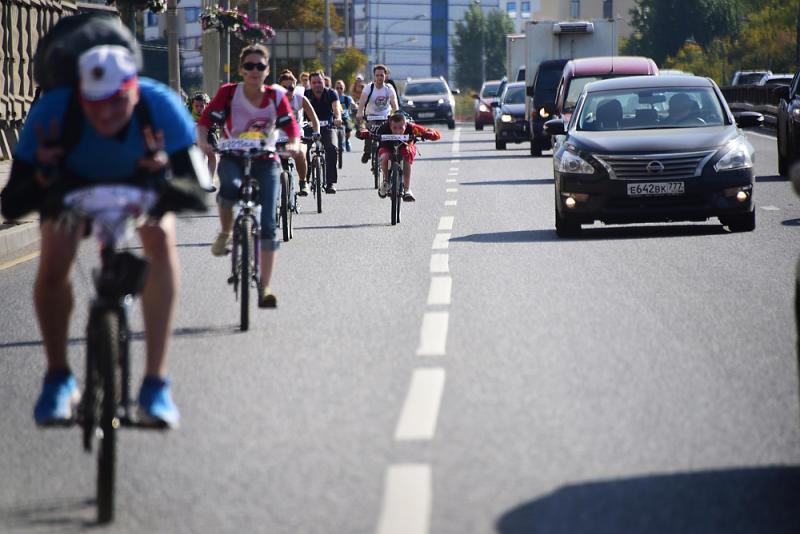 Общегородское мероприятие «Московский велопарад» пройдет в столице