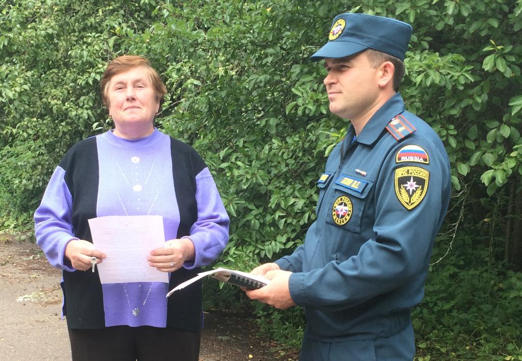 Профилактика пожаров проводится на выходных в поселениях Новой Москвы