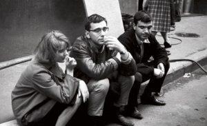 Марианна Вертинская, Андрей Кончаловский и Геннадий Шпаликов НАЧАЛО 1960