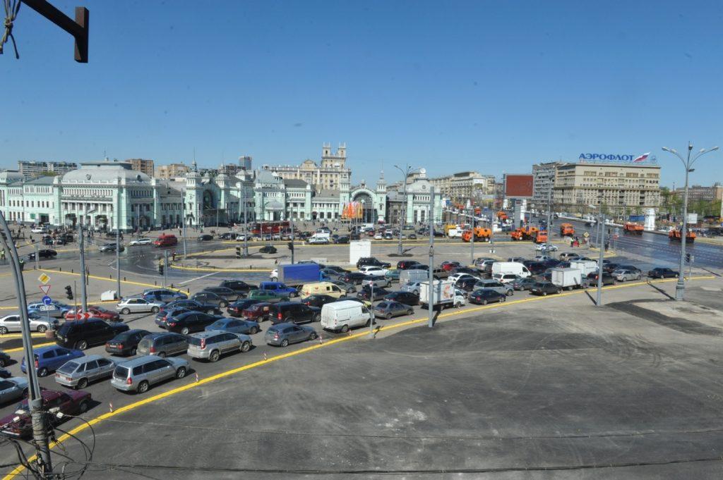 Площадь Тверская Застава в мае 2013 года. Фото: photoexpress