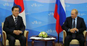 Корейская республика намерена вкладываться в развитие Дальнего Востока. Фото: Официальный сайт президента России