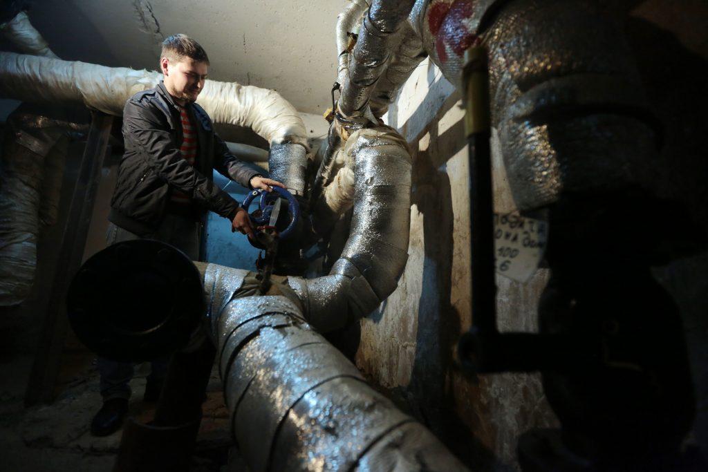 Подвалы отремонтировали в домах Сосенского