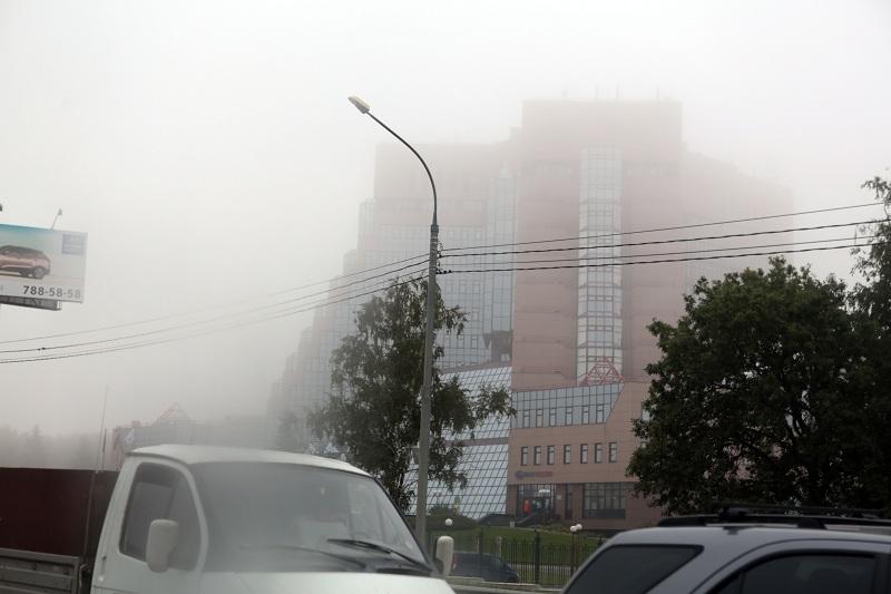 Утром в четверг Москву напугали опасным туманом