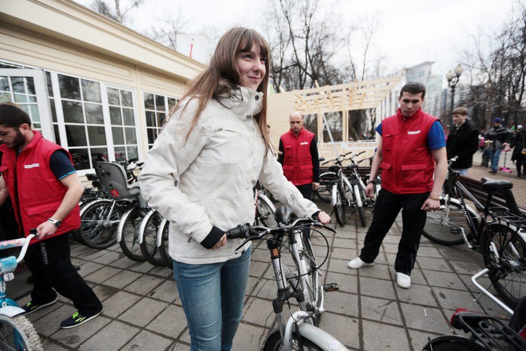 Власти Москвы рекордно продлят работу велопроката