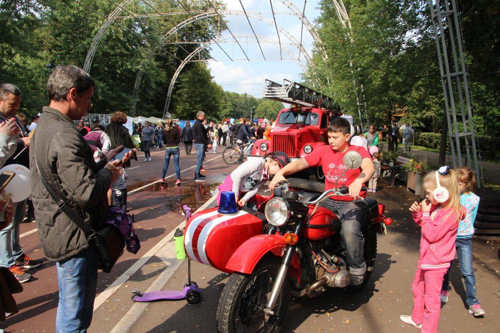 Грандиозный праздник прошел в парке культуры и отдыха «Сокольники»