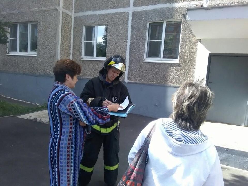 Пожарные напомнили о правилах безопасности в осенний период