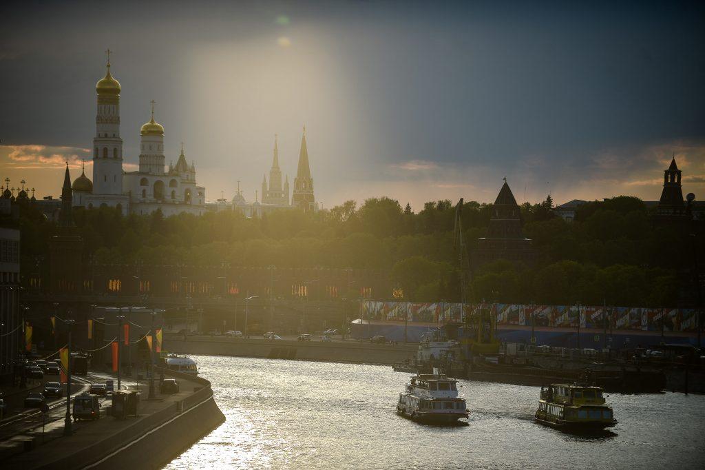 В пятницу над Москвой проглянет солнце