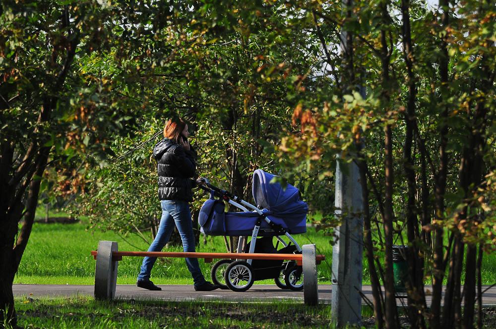 Благоустроенная прогулочная зона появилась в Щербинке
