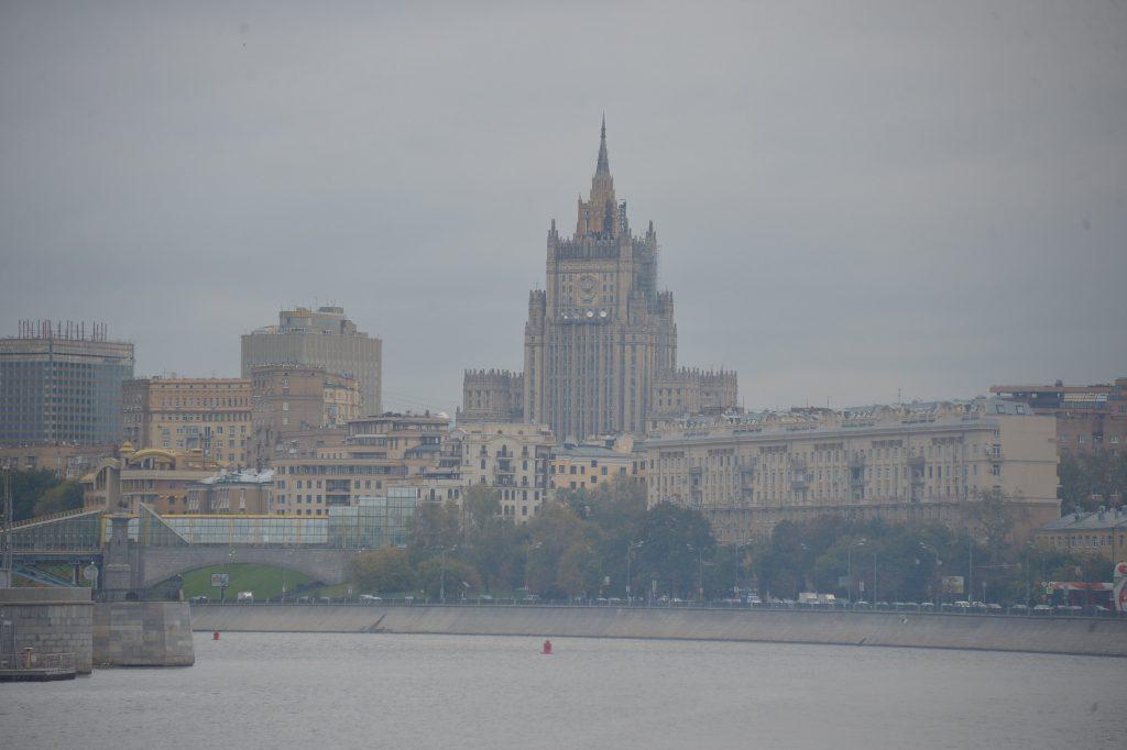 Туман и заморозки угрожают Москве «желтым» уровнем опасности