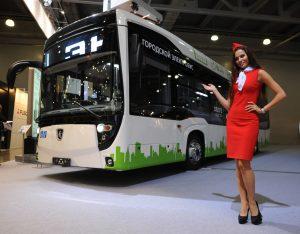 Электробус «КамАЗ» испытают в Москве