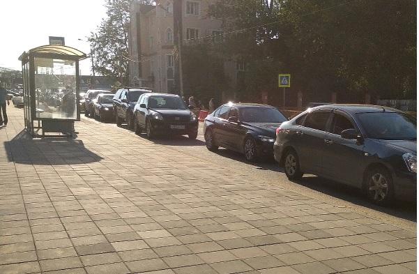 Тротуары расширят в Щербинке