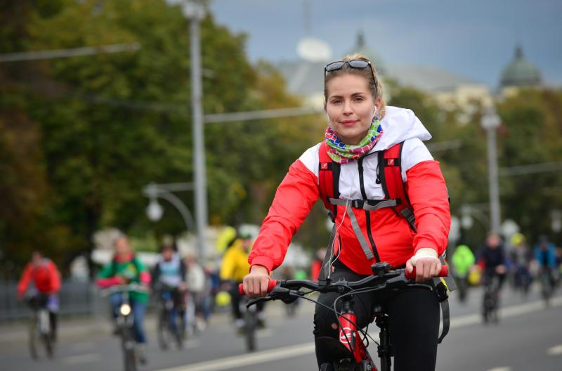 Более 30 тысяч горожан смогут присоединиться к велопараду