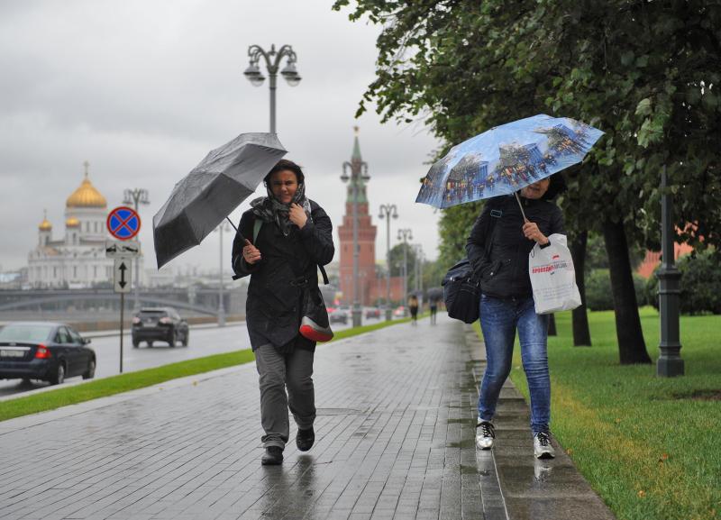 МЧС предупредило об ухудшении погоды в Москве 19 сентября