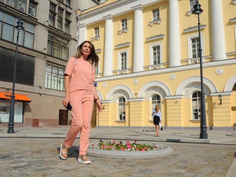 В выходные жителей Москвы порадует сухая погода