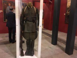Выставка «Живая летопись войны» открылась в зале Музея Победы. Фото: Наталья Мезенцева