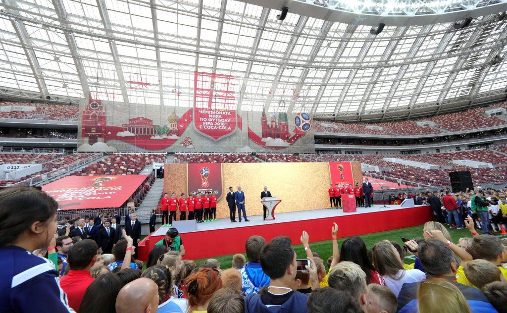 Владимир Путин оценил итоги реконструкции ОК «Лужники». Фото: krmlin.ru