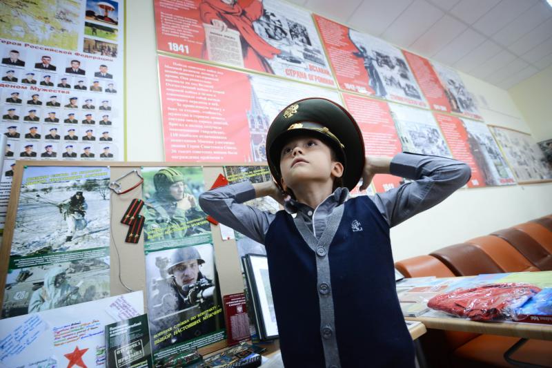 Сотрудники полиции наградят мальчика из Кокошкино за смелость