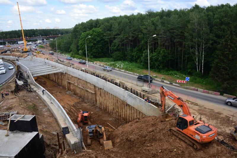 Дорогу-связку между Калужским и Киевским шоссе откроют в Новой Москве