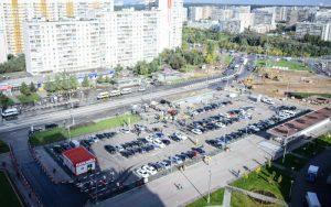 Парковочное пространство расширили в Троицке за лето. Фото: Наталья Феоктистова