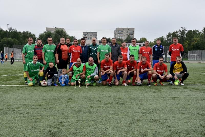 Турнир по футболу среди сотрудников полиции состоялся в Новой Москве