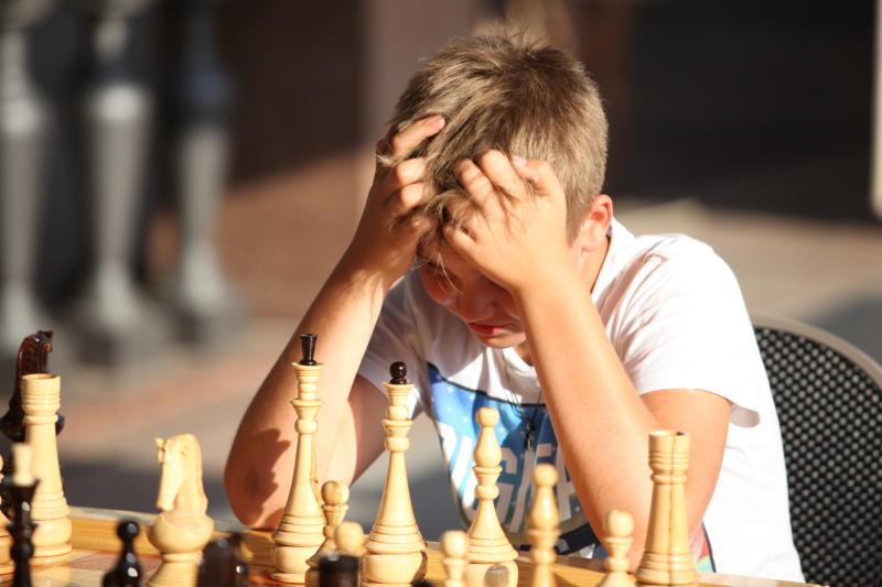 Юные шахматисты из Кокошкино приняли участие в фестивале