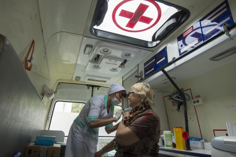 Бесплатную вакцину от гриппа сделают новомосквичам