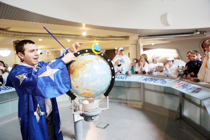 Московский планетарий проведет лекции под куполом Большого Звездного зала