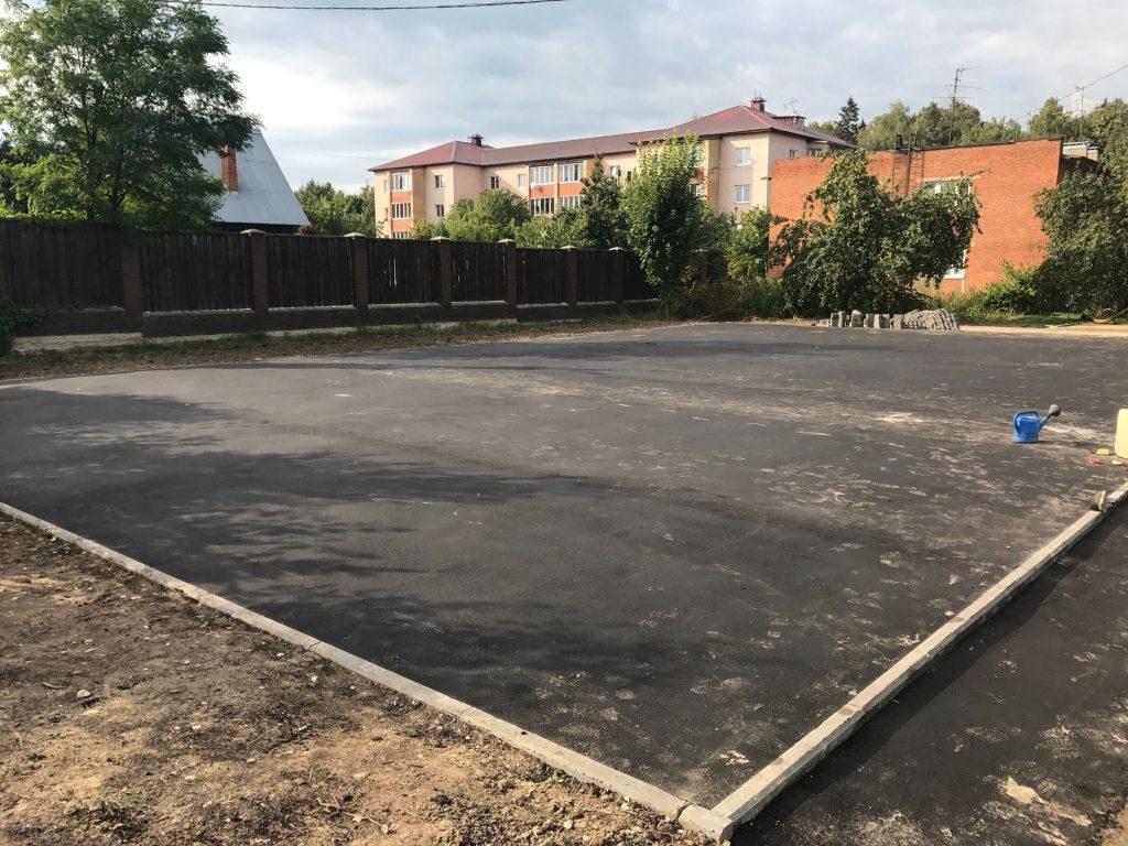 Многофункциональная спортивная площадка появится в селе Красное