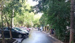 Для парковки автомобилей в Щербинке выделили 29 зон. Фото: официальная страница Администрации городского округа Щербинка в социальных сетях