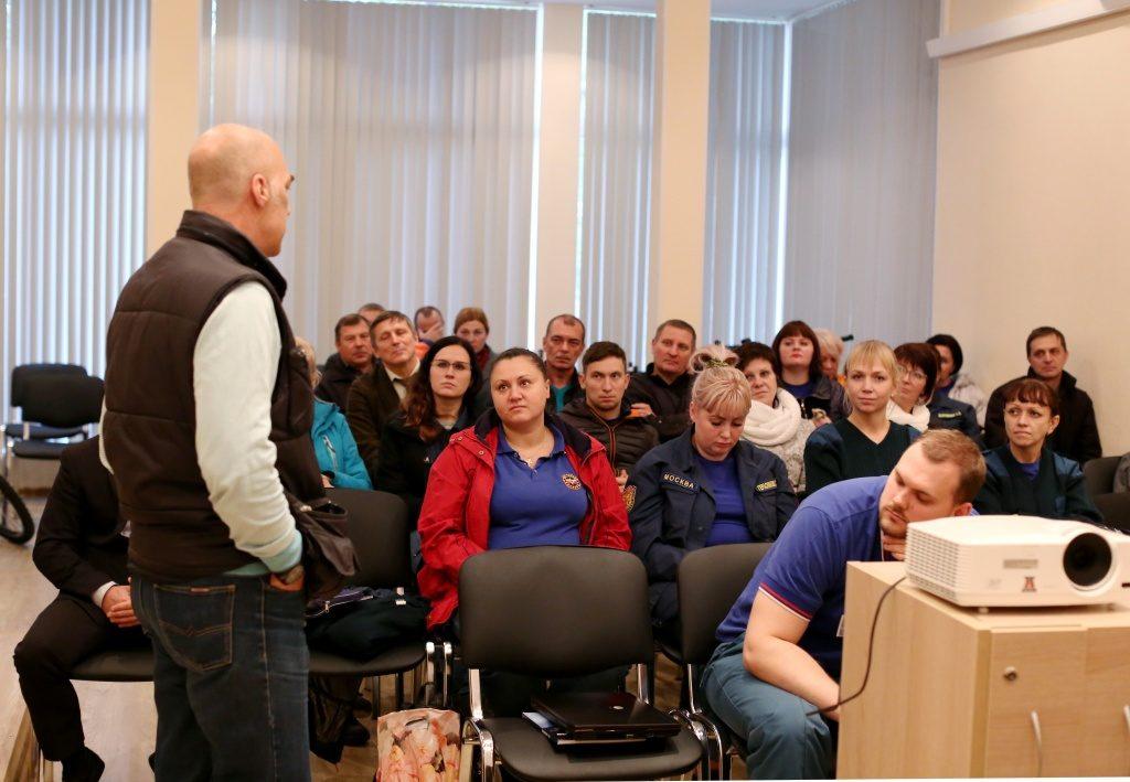 Система 112: Выездные занятия прошли для специалистов экстренных служб Москвы