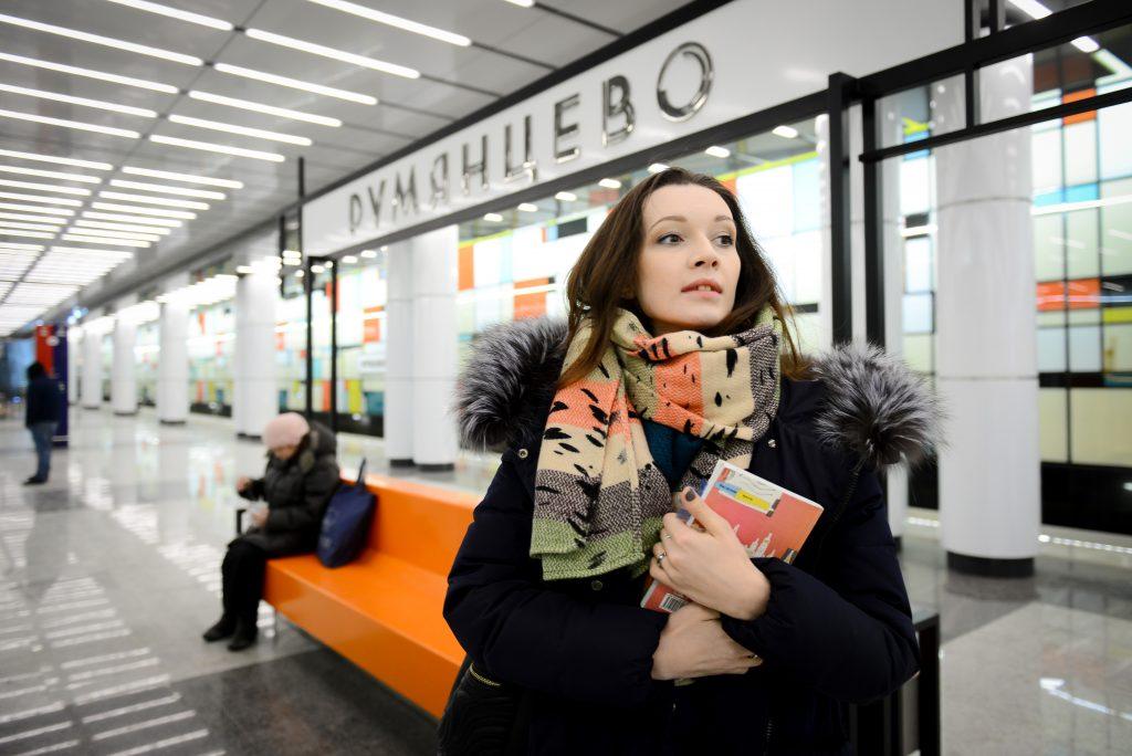21 января 2016 года. Станция метро «Румянцево» стала первой, открывшейся в ТиНАО. Фото: Наталья Феоктистова