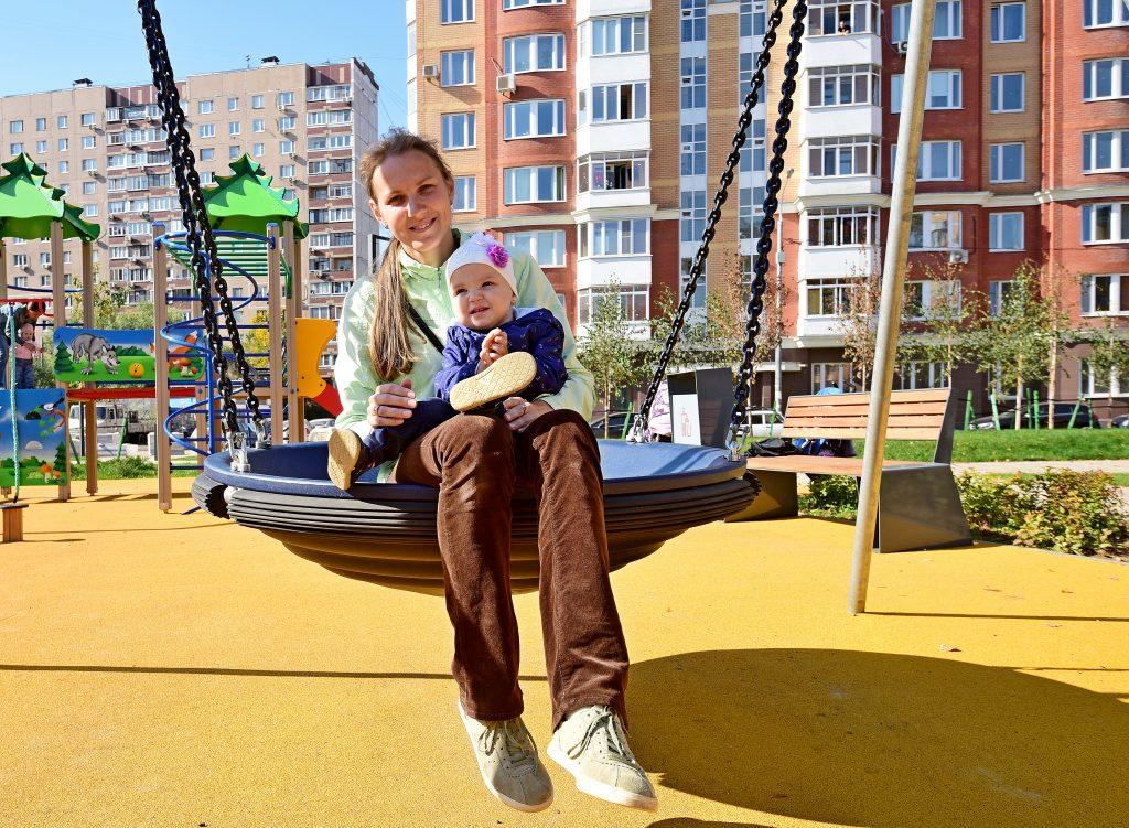 Детскую площадку обновят в Воскресенском